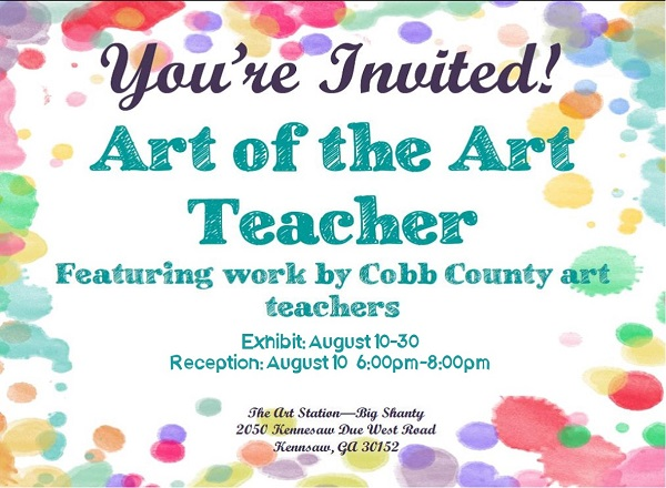 17 Art of the Art Teacher Invite