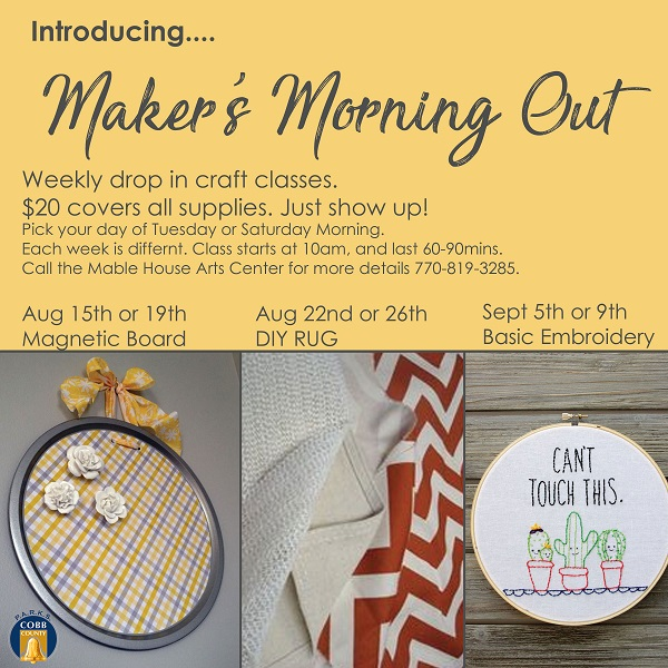 17 Maker Morning out