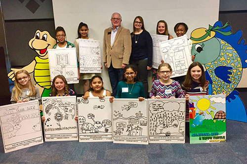 2018 Allatoona Ally Coloring Book Contest Winners