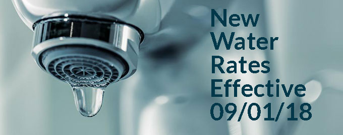 new water rates